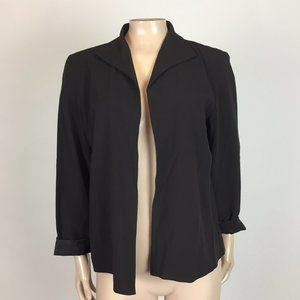 Eileen Fisher Women's Blazer jacket PM Wool H3-27